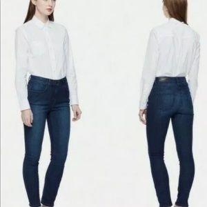 Kate Spade Broome Street High Waisted Skinny Jeans